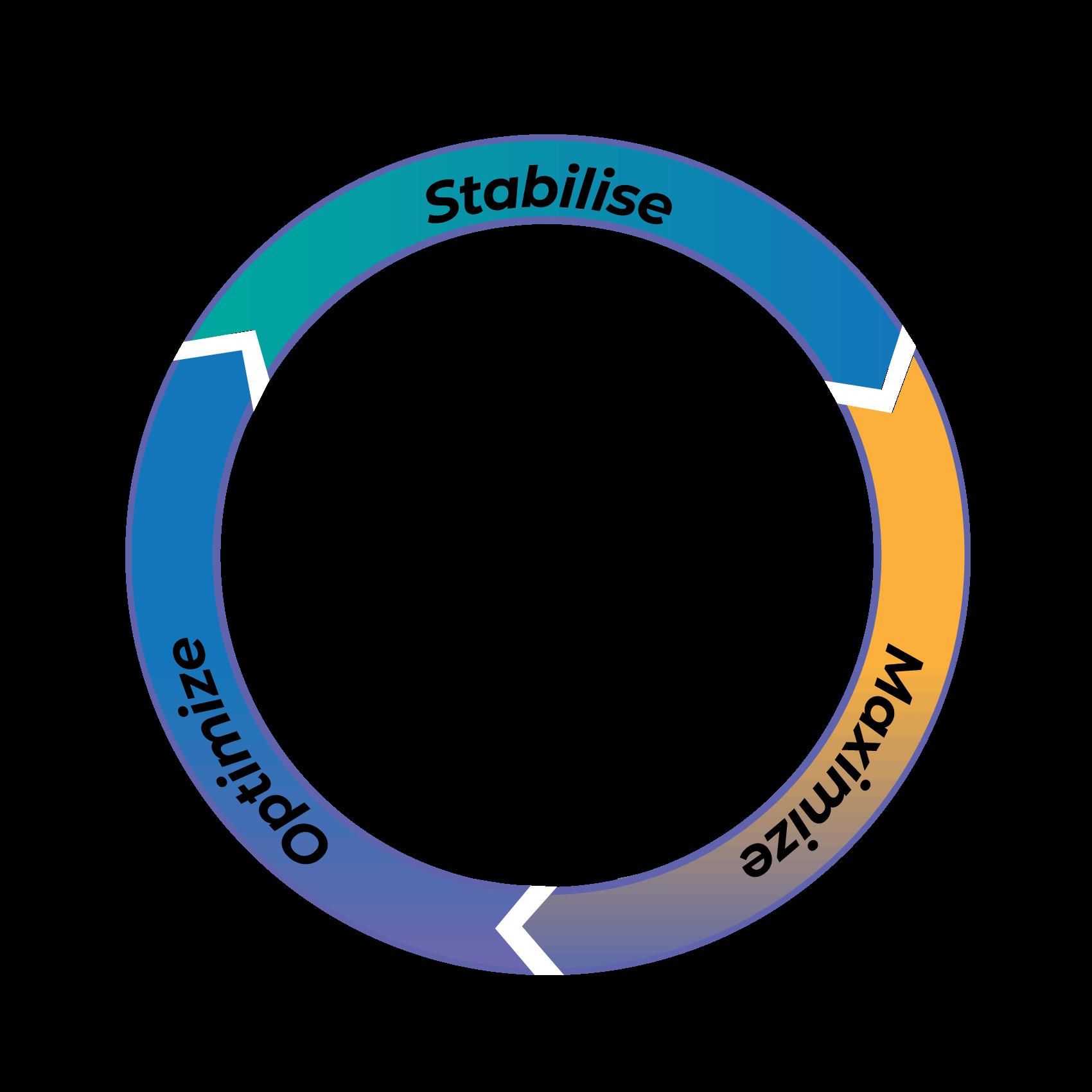 GIB-Process-diagram-stabilise-maximize-optimize